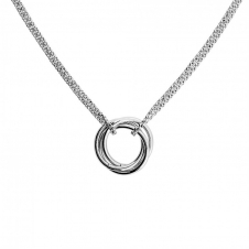 Silver Love-Knot Necklace