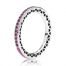 Cerise Radiant Hearts of PANDORA Ring 191011NCC