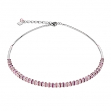 Frontline Swarovski Crystals and Cut Glass Rose Necklace