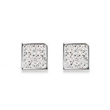 Rhinestone Pave Crystal Earrings