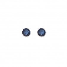 Swarovski Crystal Dark Blue Earrings