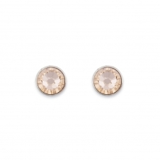 Swarovski Crystal Peach Stud Earrings