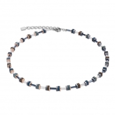 Swarovski Crystals and Haematite Blue Necklace