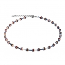 Swarovski Crystals and Haematite Red Necklace