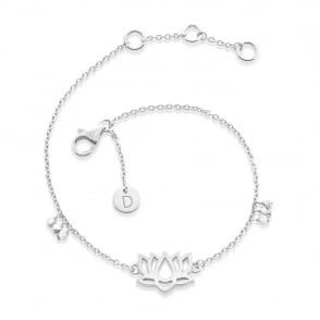 Lotus Good Karma Chain Bracelet