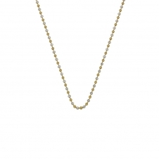 "30"" Sterling Silver and Yellow Gold Plated Chain"