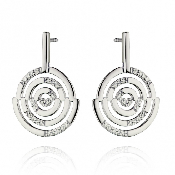 Fiorelli Cut Out Stud Earrings