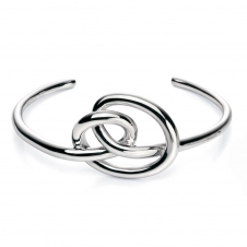 Fiorelli Silver Knot Bangle B4775