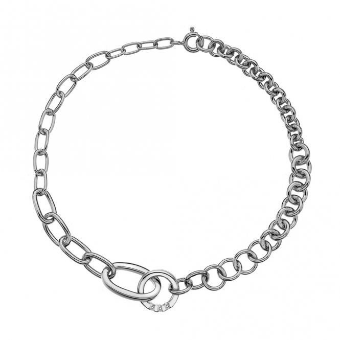 Hot Diamonds Halo Trio of Diamonds Bracelet