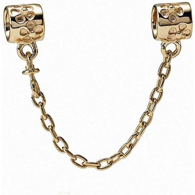 PANDORA 14ct Gold Safety Chain 750312-05