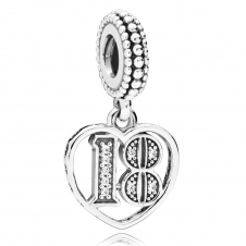 18 Years of Love Pendant Charm 797262CZ