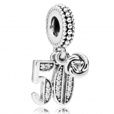 50 Years of Love Pendant Charm 797264CZ