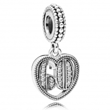 60 Years of Love Pendant Charm 797265CZ