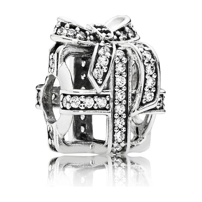 PANDORA All Wrapped Up Openwork Charm 791766CZ