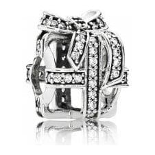 All Wrapped Up Openwork Charm 791766CZ