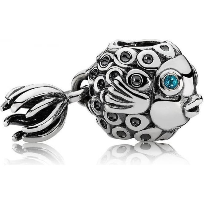PANDORA Angel Fish Charm 791108TPP