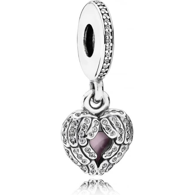 PANDORA Angel Wings Pendant Charm 791737CZ