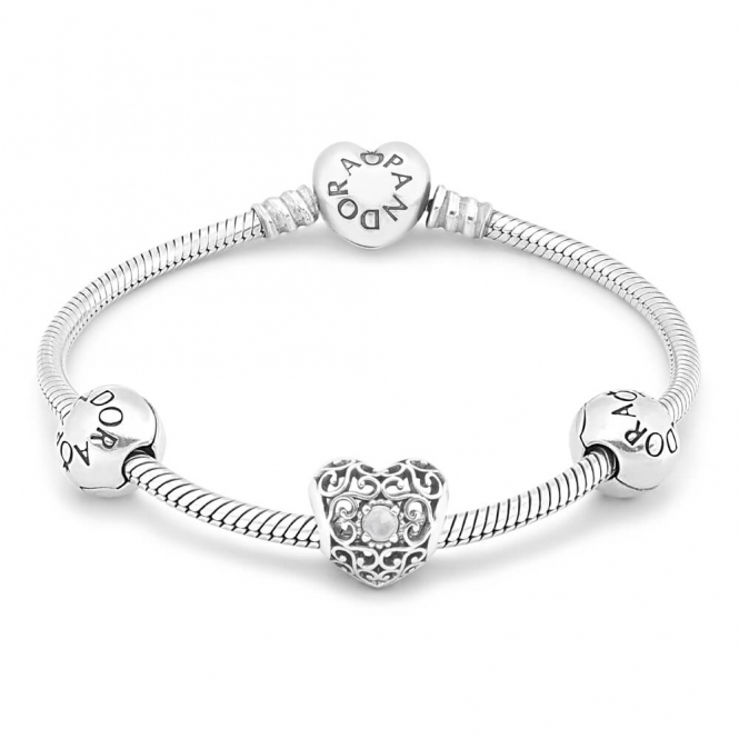 PANDORA April Birthstone Bracelet B800556