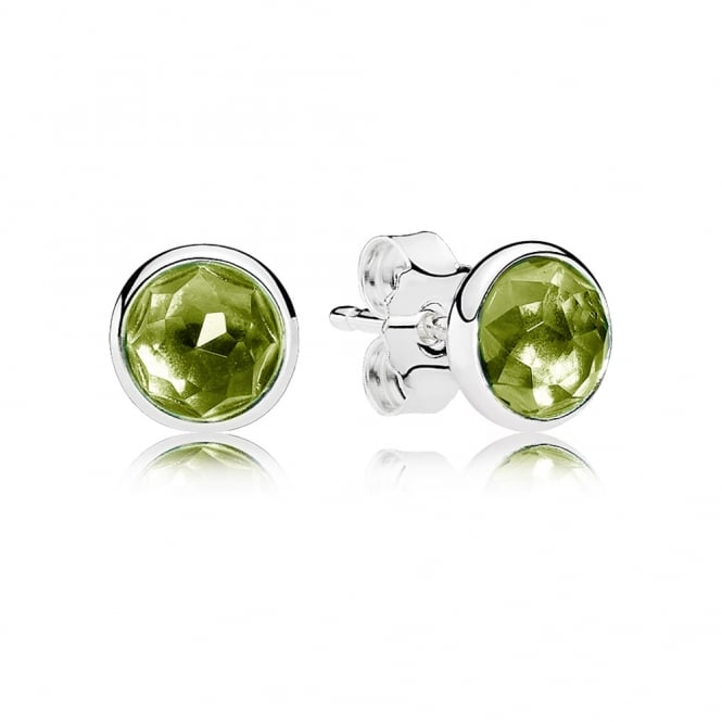 PANDORA August Droplets Stud Earrings 290738PE