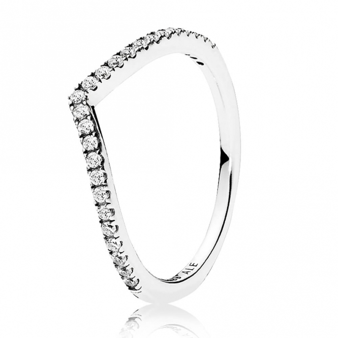 PANDORA Beaded Wish Ring 196316CZ