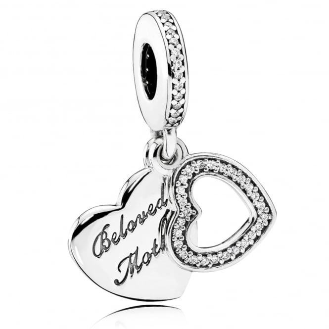 PANDORA Beloved Mother Pendant Charm 791883CZ