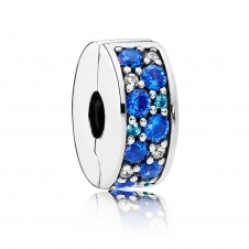 Blue Mosaic Shining Elegance Spacer Clip