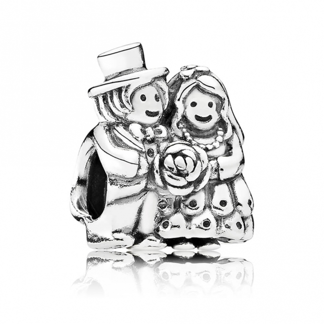 PANDORA Bride & Groom Charm 791116