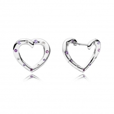 Bright Hearts Hoop Earrings 297231NRPMX