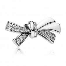 Brilliant Bow Charm 797241CZ