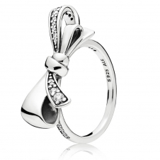 Brilliant Bow Ring 197232CZ