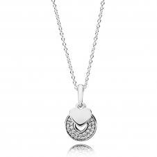 Celebration Hearts Necklace 390404CZ-70