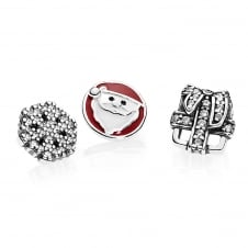 Christmas Memories Petites Locket Charm 792023CZ