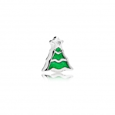 Christmas Tree Petite Locket Charm 796395EN25