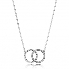 Circles Necklace 396235CZ-45