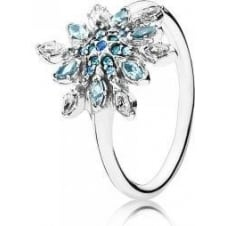 Crystallised Snowflake Ring 190969NBLMX
