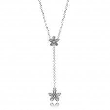 Dazzling Daisies Necklace 590540CZ-60