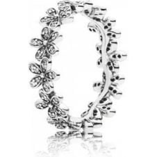 Dazzling Daisy Band Ring 190934CZ
