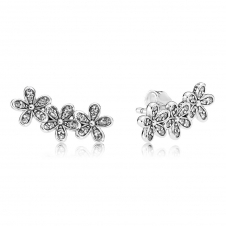 Dazzling Daisy Clusters Stud Earrings 290744CZ