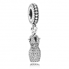 Dazzling Dress Pendant Charm 792062CZ