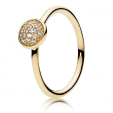 Dazzling Droplet Ring 150187CZ