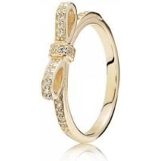 Delicate Bow Ring 150175CZ