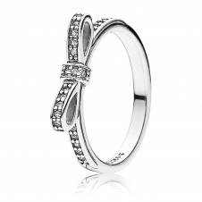 Delicate Bow Ring 190906CZ