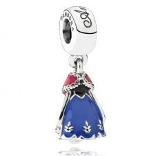 Disney - Anna's Dress Pendant Charm 791591ENMX