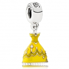 Disney - Belle's Dress Pendant Charm 791576ENMX