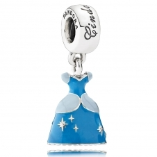 Disney - Cinderella's Dress Pendant Charm 791578ENMX