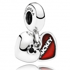 Disney - Mickey and Minnie Pendant Charm 791441NCK