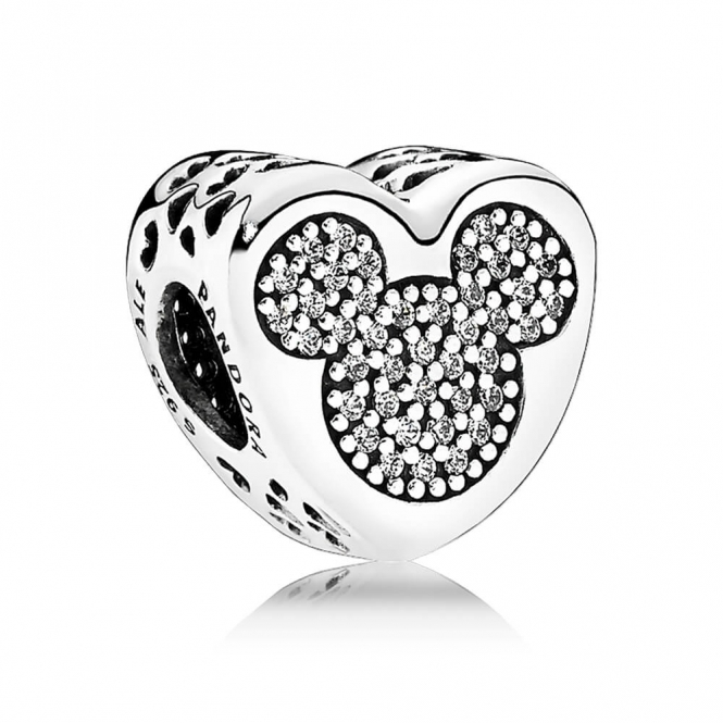 PANDORA Disney - Mickey and Minnie True Love Charm 792050CZ