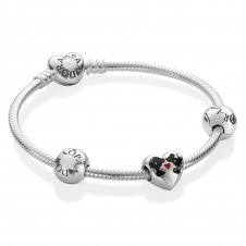 Disney - Minnie and Mickey Kiss Bracelet B800807