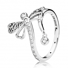 Dreamy Dragonfly Ring 197093CZ