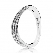 Elegant Waves Ring 197136CZ